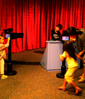 Performers go wild in the live music studio